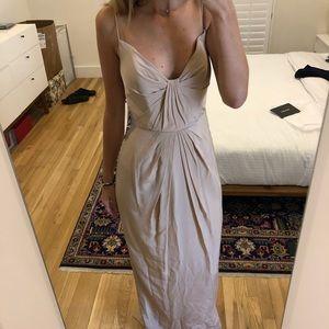 Zimmermann pleated silk dress